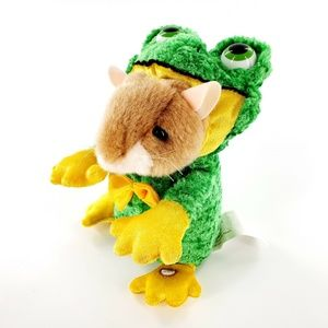 Gemmy Industries Dancing Mouse In Frog Plush Toy